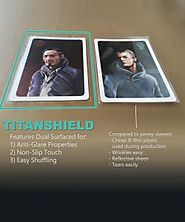 TitanShield Board Game and Matte Trading Card Sleeves