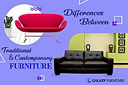 Traditional & Contemporary Furniture Designs: The Differences