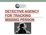 Detective Agency For Tracking Missing Person by WincorUS - Issuu