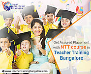 Join Online Nursery Teacher Training (NTT) course in Bangalore