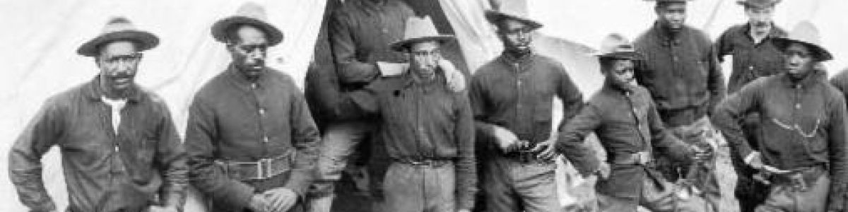 Headline for Texas History- Buffalo Soldiers