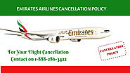 Emirates Airlines Cancellation Policy & Refund 1-888-286-3422
