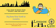 Cheap Morning Flights from New York to London