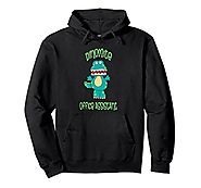 Dinomite Office Assistant Volunteer Staff Thank you Hoodie