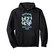 Official Unicorn & Dragon Herder Thank you gift idea Hoodie