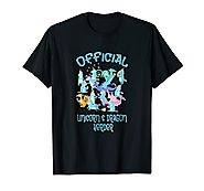 Unicorn Dragon Herder Teacher Mom Staff Thank you T-Shirt