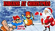 Indians At Christmas | Comedy Jokes In Hindi | Merry Christmas | Maha Mazza