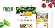 Ves Fresh | Best Magento 2 Food Theme | LandOfCoder