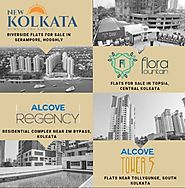 What is the ongoing price of apartments in Kolkata?