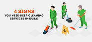 4 Signs You Need Deep Cleaning Services Dubai | StressFreeDubai