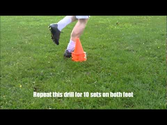 Individual Football training Session - Drills to Improve you as a Soccer Player