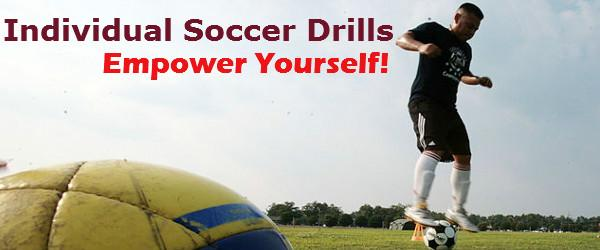 Headline for Individual Soccer Drills