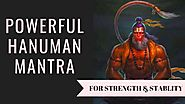 HANUMAN MANTRA FOR SUCCESS AND PROSPERITY | MAGICAL BLESSINGS