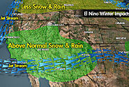 How Does El Niño Drive Snowfall in the U.S.?
