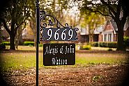 Reflective Address Signs For Yard | Address America