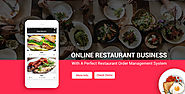 Restaurant Order and Delivery Management Software With Mobile Apps