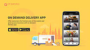 On Demand Food Ordering and Delivery App Builder