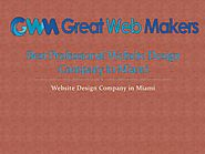 Best Professional Website Development Company in Miami