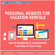 Get Your Personal Website Made Catchy To Run Your Vacation Rental Business Efficiently