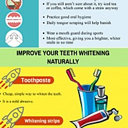 Dental Care Center For The Right Teeth Whitening Solution | Visual.ly