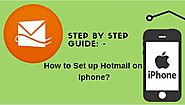 How to Set up Hotmail Account on iPhone- Step by Step Guide