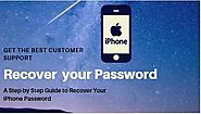 iPhone Password Recovery- A Step by Step guide to Recover iPhone Passcode