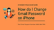 How do I Change Gmail Password on iPhone