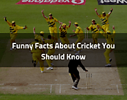 Funny Facts About Cricket You Should Know