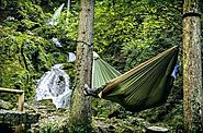 Double Hammock is Perfect for Camping Obsessed Couple