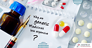 Why Are Generic Medicines Cheaper?