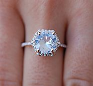White Sapphire as a Gift for your Lover | Unique Engagement Rings