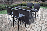 Add Extra Beauty to Your Outdoor Living Space with Outdoor Bar Furniture