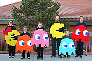 Pac-Man Halloween Costumes