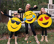 DIY Emoji Costumes