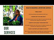 Health Coach and Nutritionist Services in Portland