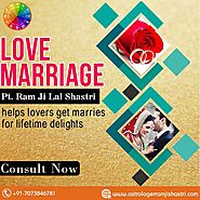 Love Marriage Astrology Service - Astrologer Ram Ji Lal Shastri