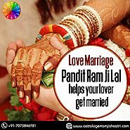 Love Marriage Problem Solution in Gurugram - Astrologer Ram Ji Lal Shastri