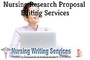 Nursing Research Proposal Editing Services - Best Research Proposal Editors