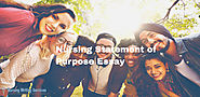 Nursing Statement of Purpose Essay Writing Services For Nursing Students