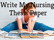 Write My Nursing Thesis Paper - For Nursing Students