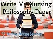 Write My Nursing Philosophy Paper - For Nursing Students