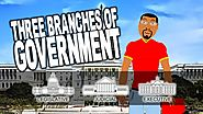 What are the Three Branches of Government? 3 Branches of Government for kids cartoon!