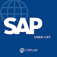 Sap Users Mailing List | Sap Users Email List | Sap Users List
