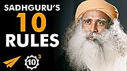 """Be PASSIONATE About EVERYTHING!"" - Sadhguru (@SadhguruJV) - Top 10 Rules"