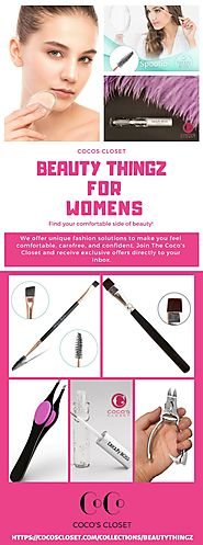 Beauty Thingz For Women at Cocos Closet