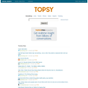 Twitter Search, Monitoring, & Analytics | Topsy.com
