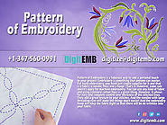 Pattern of Embroidery
