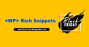 WPRichSnippets Black Friday Deal 2020 and Cyber Monday Offer (50% OFF)