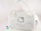White Hello Kitty Handbag Tote Shoulder Purse 2014