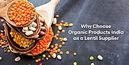 Why Choose Organic Products India as a Lentil Supplier | Blog
